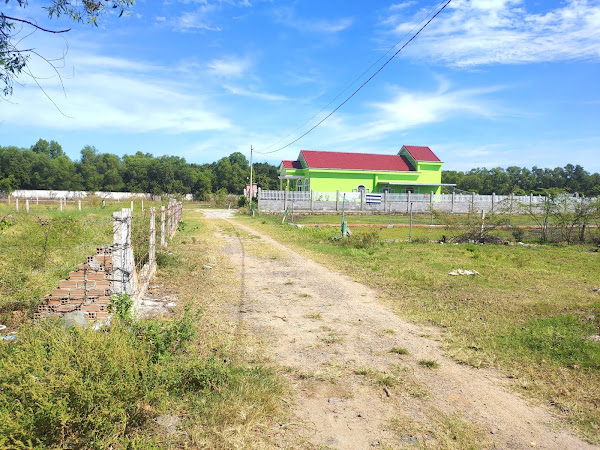ảnh thực tế đất cần bán đất Hồ tràm thuộc xã phước thuận giá đầu tư
