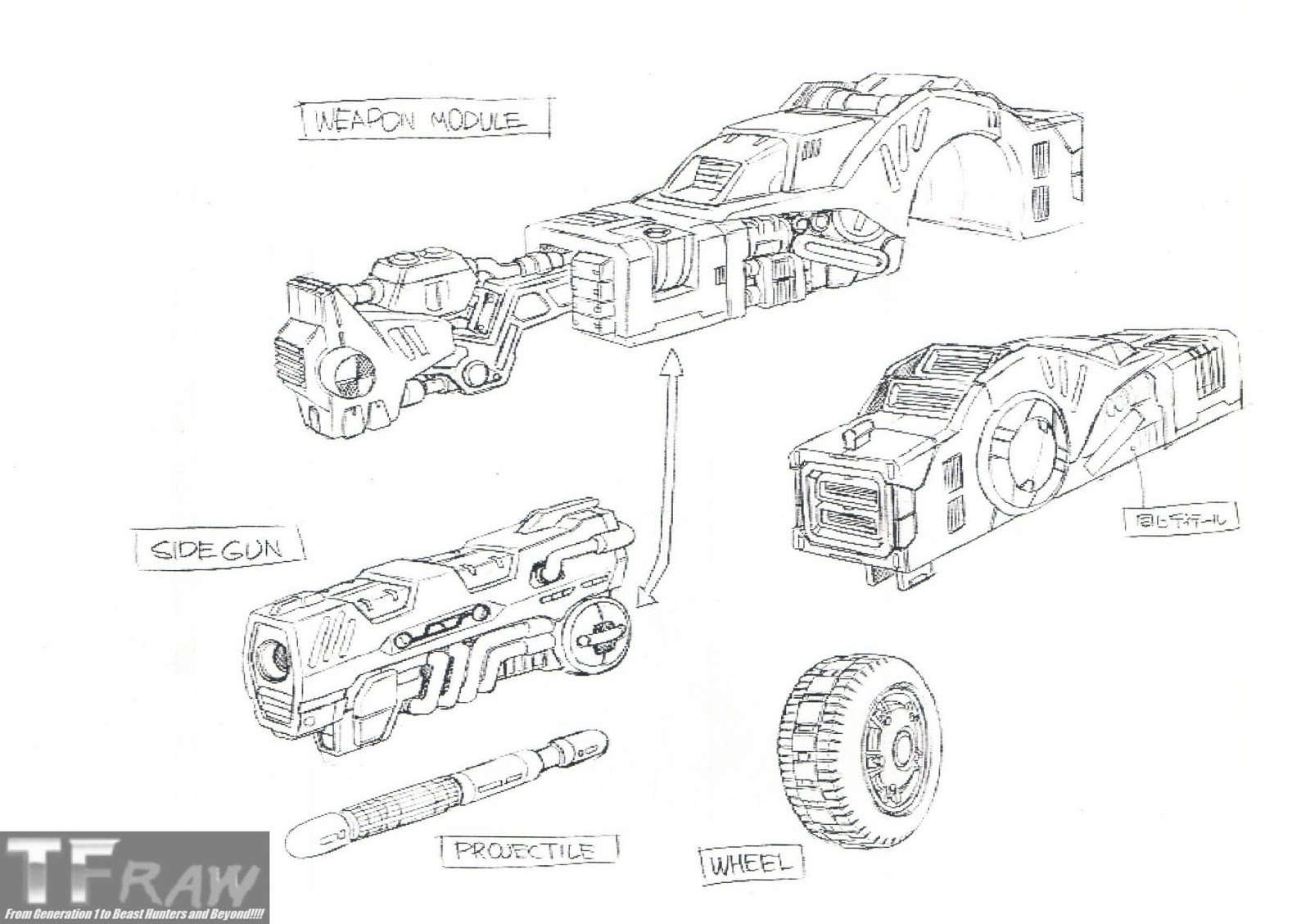 TF RAW!!!! Transformers Media Archive: Galaxy Force Design