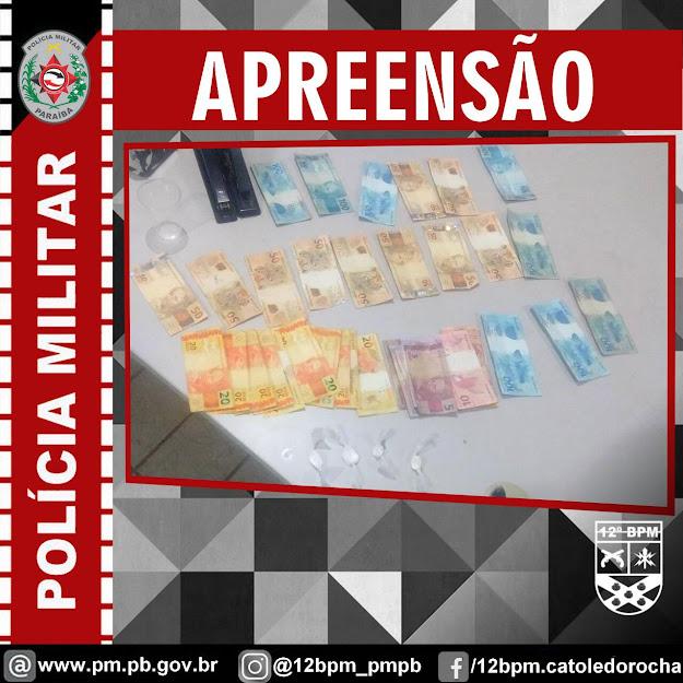 Policia Militar prende suspeito por tráfico de drogas em São Bento