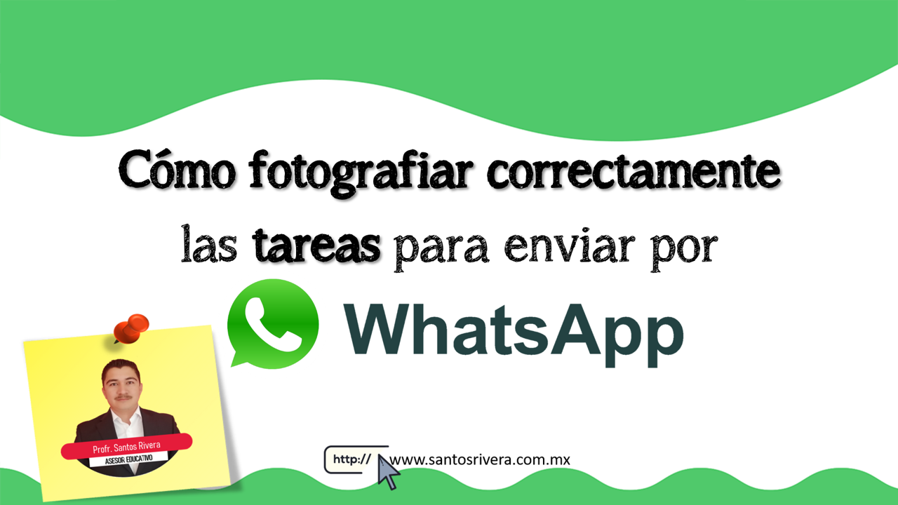 Cómo fotografiar correctamente las tareas para enviarlas por WhatsApp