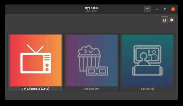 تطبيق IPTV جديد على نظام لينكس