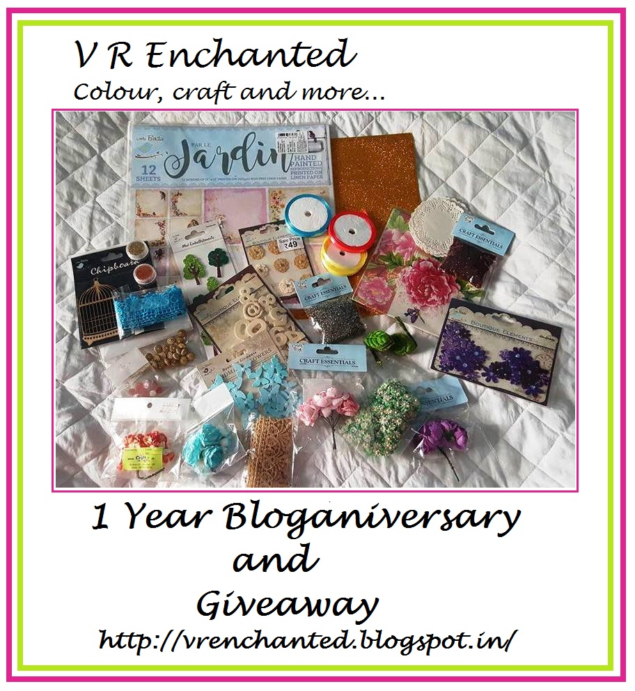 Giveaway by Mukta