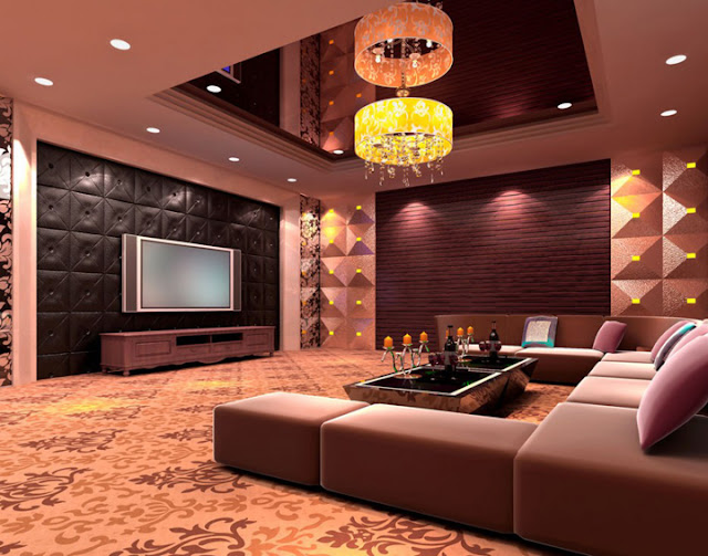 basement home theater ideas with plasma tv