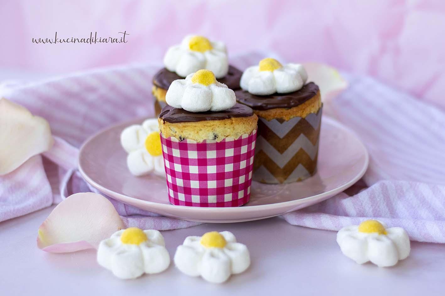 Cupcake al cioccolato ricetta rapida