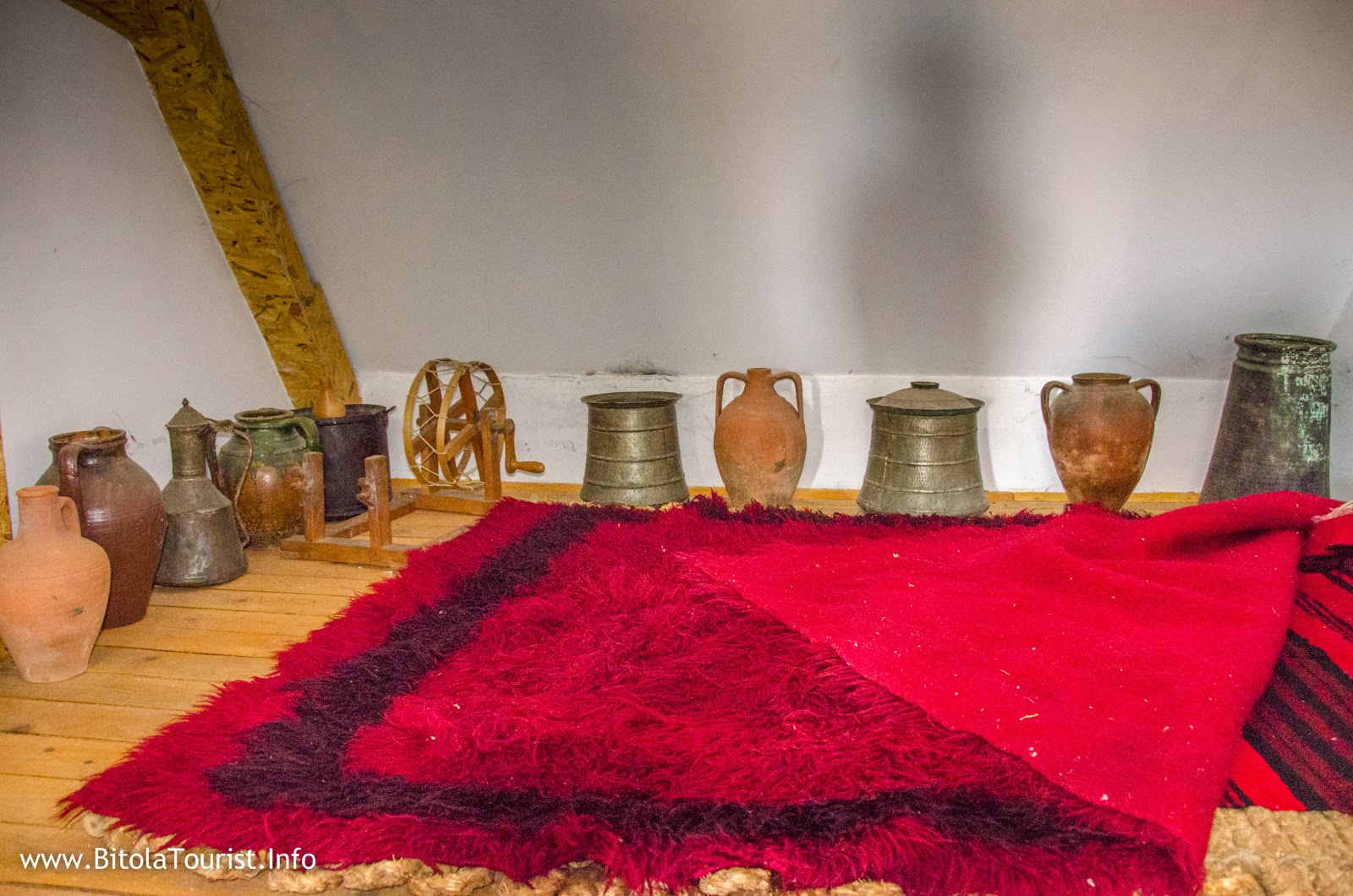 Krklino museum - one of the richest private museums in Macedonia;