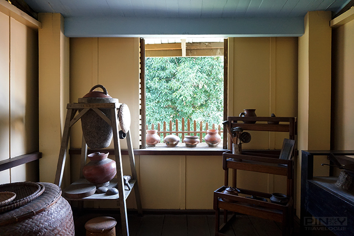 Jose Rizal's birthplace - kitchen