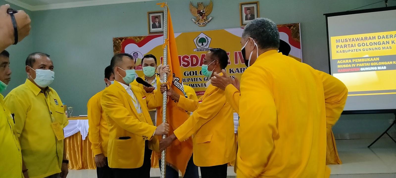 Jaya Kembali Duduki Jabatan Ketua DPD Golkar, Ini Programnya?