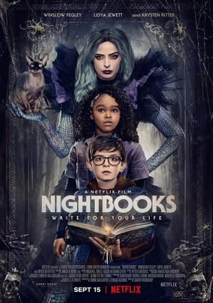 Nightbooks 2021 HDRip Dual Audio || 1080p || 720p || 480p [Hindi-English]