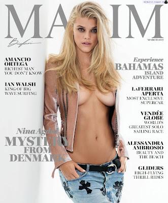 Nina Agdal - Maxim USA 2017 Marzo (21 Fotos HQ)