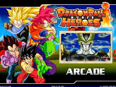 تحميل لعبة دراغون بول ذى download dragon ball heroes mugen