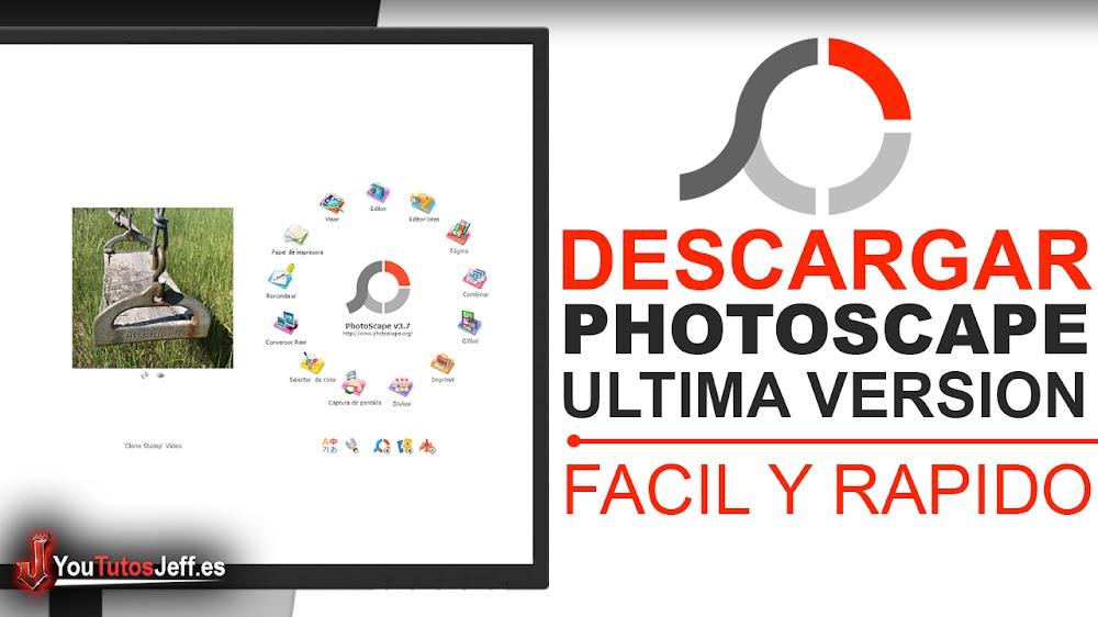 Como Descargar PhotoScape Ultima Versión Español