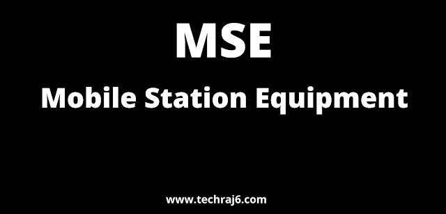 MSE full form, What is the full form of MSE