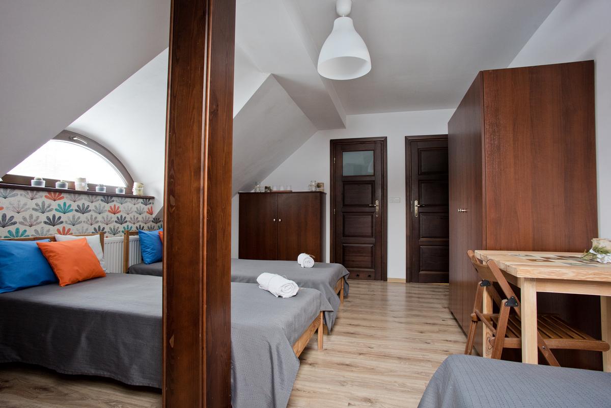 pokój i noclegi w Beskid Niski, łóżka