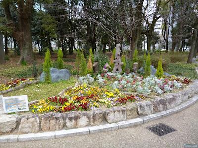 靭公園花壇