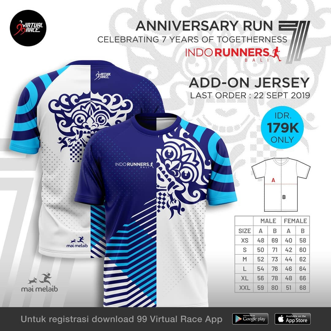 Jersey - IndoRunners Bali 7th Anniversary • 2019
