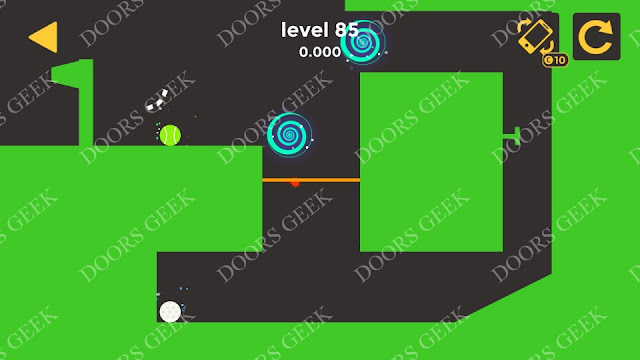 Ball & Ball Level 85 Solution, Walkthrough, Cheats for android and ios