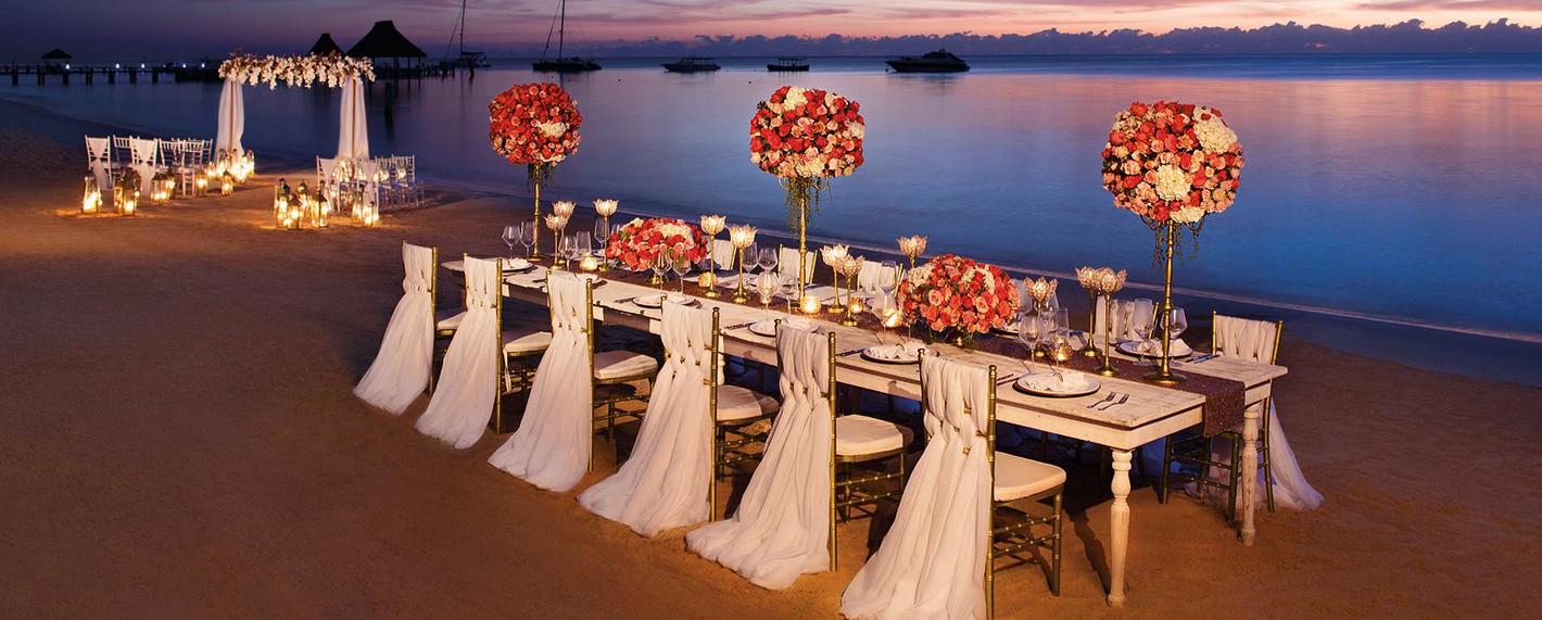 Hotel Zoetry Agua Punta Cana Wedding Venue