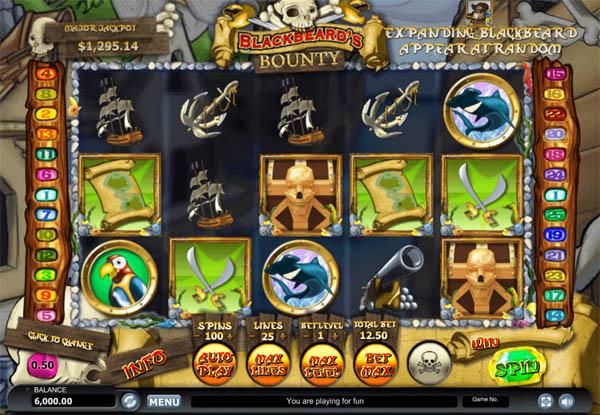 Main Gratis Slot Indonesia - Blackbeard's Bounty Habanero