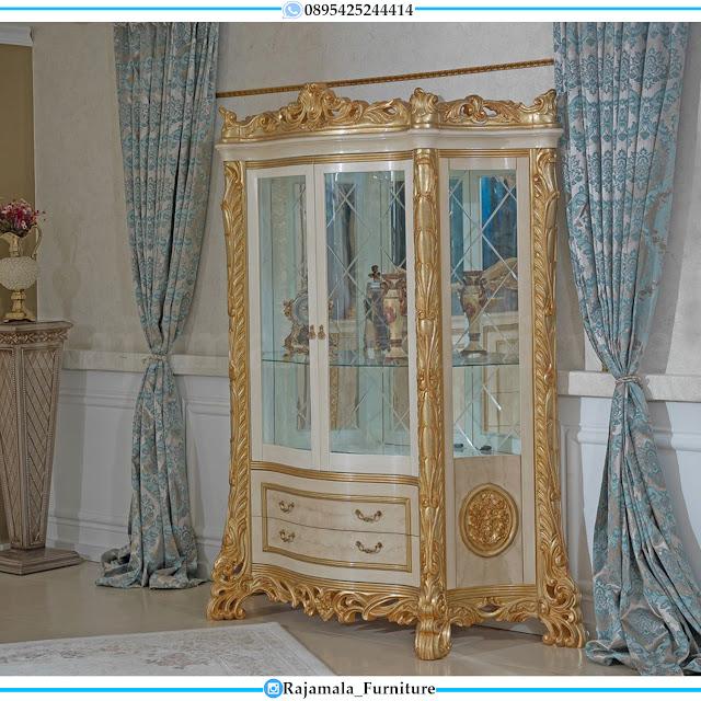 Lemari Hias Mewah Terbaru Luxury Classic Imperial Design RM-0473