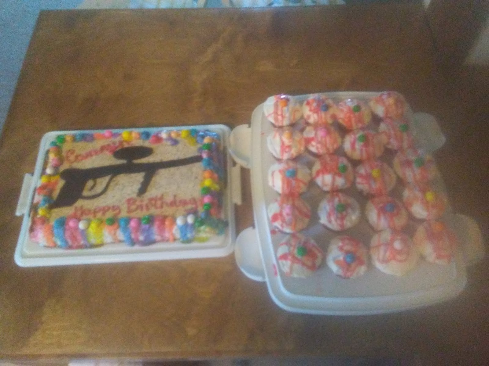 Cakes By Brenda Great Falls Montana Paintball Birthday Cake