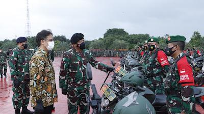 Tenaga Vaksinator TNI Siap Diperbantukan Ke Kementerian Kesehatan RI