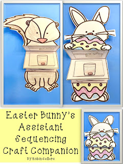 Easter Bunny's Assistant Sequencing Craft