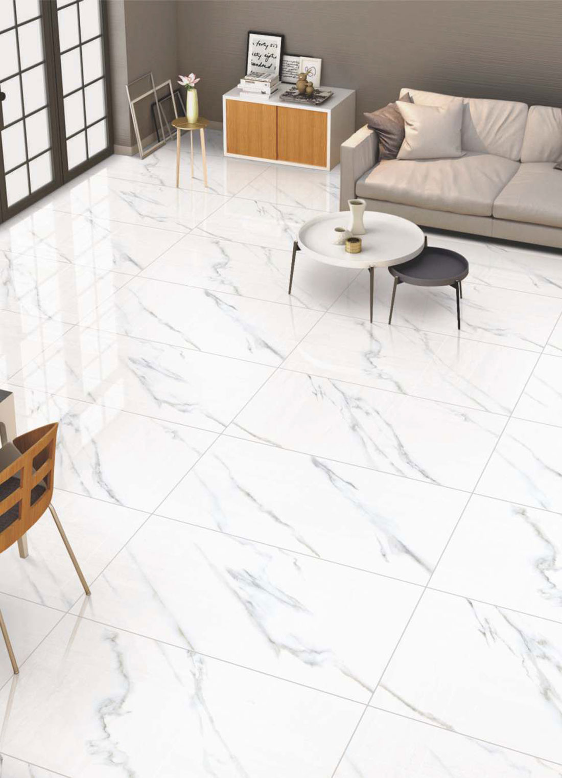 Glazed porcelain tiles hdb