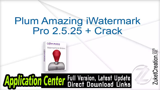 Plum Amazing iWatermark Pro 2.5.25 + Crack