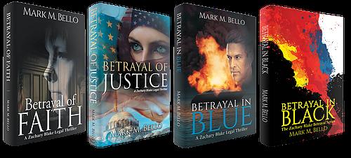 Zachary Blake Legal Thriller series by Mark M. Bello