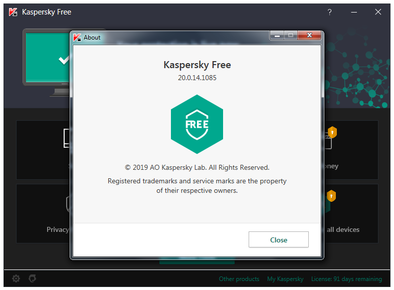 Kaspersky 2020 20 0 14 1085 - Frontpage Software Updates
