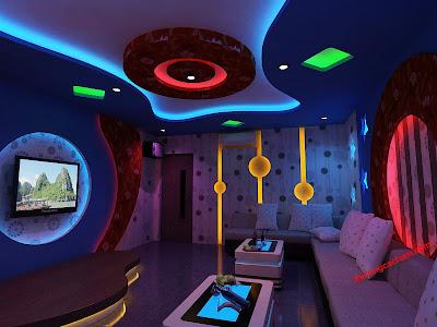 Tư vấn thiết kế Thi công phòng karaoke - phòng hát đẹp, chuyên nghiệp