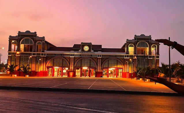 Tourisme, gare, ferroviaire, train, TER, LEUKSENEGAL, Sénégal, Dakar, Afrique