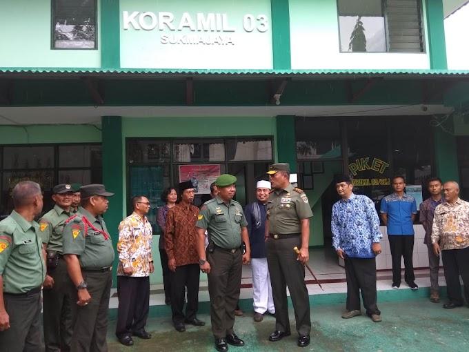 Kunjungi Koramil 03/Sukmajaya, Pangdam Minta Babinsa Tingkatkan Sinergitas di Wilayah