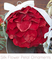 http://www.cremedelacraft.com/2013/12/DIY-Christmas-Holiday-Ornaments-Silk-Flowers.html