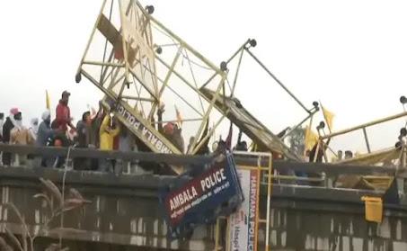 Farmers Protest LIVE: Uproar at Ambala's Shambhu fringe, police utilized level gas