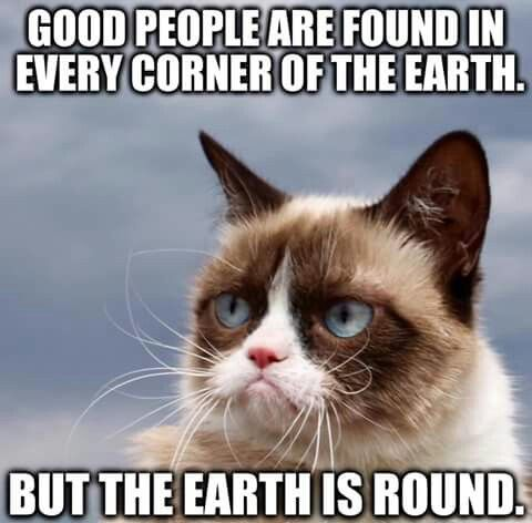 But The Earth Is Round