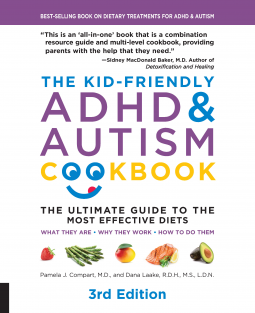 The Kid-Friendly ADHD & Autism Cookbook cover