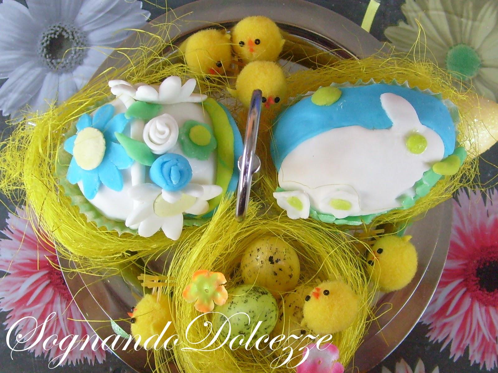 Sognando dolcezze ovetti di cioccolato decorati - Uova di pasqua decorati ...