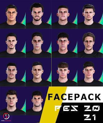 PES 2021 YOGIANT's Wonderkid Facepack by YNWA
