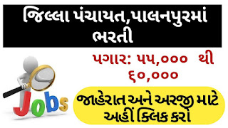 District Panchayat Palanpur Recruitment for Medical Officer Posts 2020