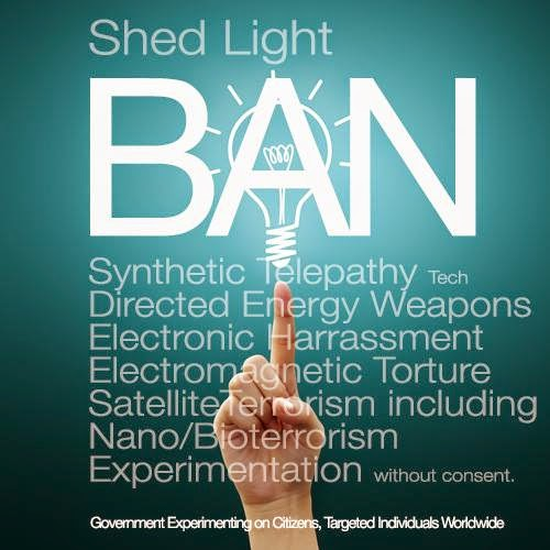 Thinking Aloud   : BAN MIND CONTROL FROM THE WORLD