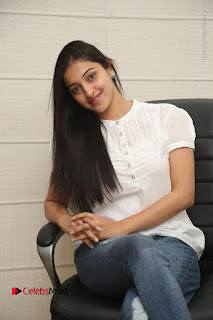 Tollywood Telugu Actress Mouryaani Latest Stills in Ripped Jeans at Intlo Deyyam Nakem Bhayam Movie Interview  0044.JPG