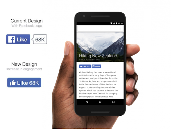 Facebook has redesigned its Like button and other social plugin buttons with a cleaner mobile friendly design.Social Plugins are one of the easiest ways to integrate Facebook with your website