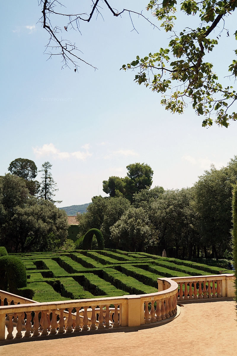 Parc del Laberint d'Horta, Barcelona, Spain - it`s a great attraction in Barcelona!