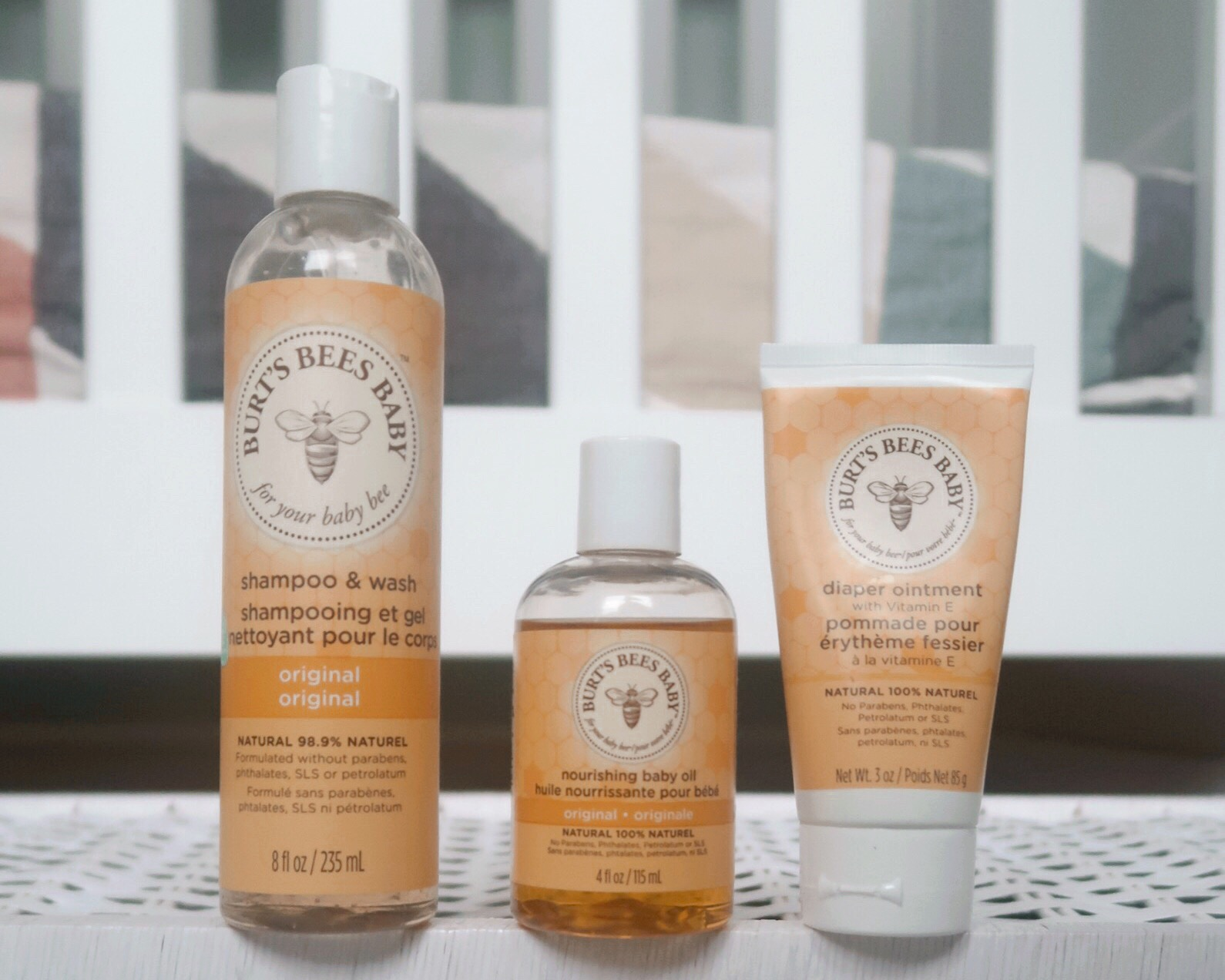 BURTS BEES BABY PRODUCTS