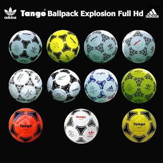 PES 2020 / PES 2019 Adidas Tango Ballpack Explosion Full HD by Vito