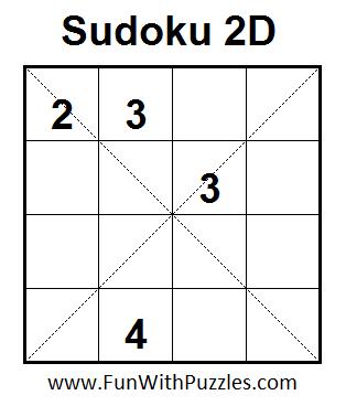 Sudoku 2D  (Mini Sudoku Series #4)