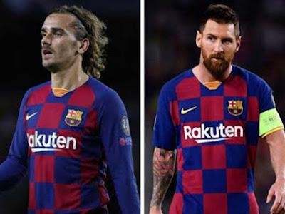 Messi-Griezmann va chạm nảy lửa trên sân tập, lộ bằng chứng ghét nhau