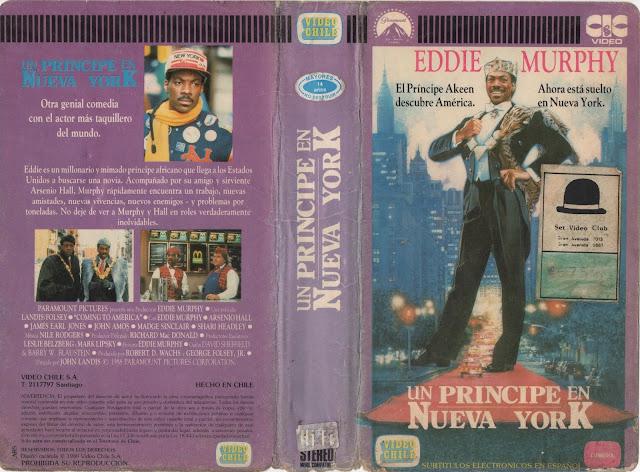 """Pelicula: """"Un Principe en Nueva York"""" - 1988"""