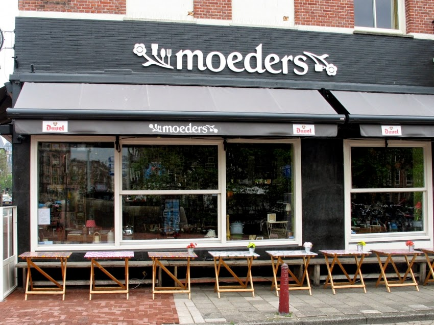 Restaurante-Moeders-em-Amsterdã-Holanda